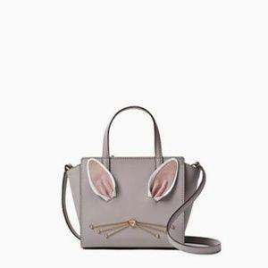 Kate Spade Hop to it Rabbit Mini Hayden Handbag